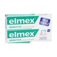 ELMEX Dentifrice SENSITIVE Tubes 2x75 ml