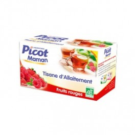 PICOT Tisane d'allaitement Fruits rouges.