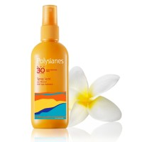 POLYSIANES Spray lacté au Monoï SPF 30 Spray 125 ml