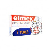 ELMEX Dentifrice Enfant Lot 2 Tubes 50 ml