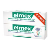 ELMEX Dentifrice SENSITIVE PROFESSIONAL lot 2 Tubes 75 ml