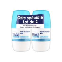 ETIAXIL ANTI-TRANSPIRANT 48H - DUO Roll-on 50 ml
