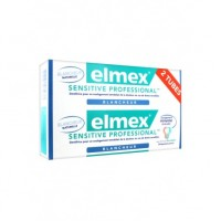 ELMEX Dentifrice SENSITIVE PROFESSIONAL BLANCHEUR DUO Tubes 75 ml