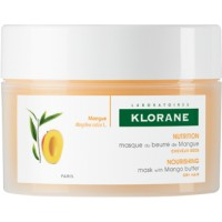 KLORANE Masque Mangue Réparateur Nutrition intense Pot 150 ml
