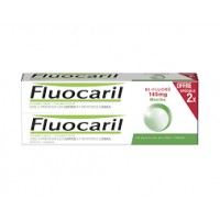 FLUOCARIL Dentifrice Bi-Fluoré 145 mg Menthe 2 Tubes 75 ml