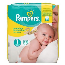 Pampers New Baby Premium protection Taille 1  2-5.