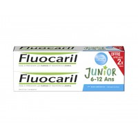 FLUOCARIL Dentifrice Junior 6-12 ans Bubble gum Lot 2 Tubes 50 ml