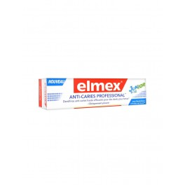 ELMEX Dentifrice Anti-Caries PROFESSIONAL JUNIOR.