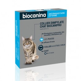 BIOCANINA Collier insecticide BIOCANIPRO pour.