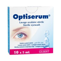 OPTISERUM Lavage Oculaire Stérile Unidose 10 x 5 ml