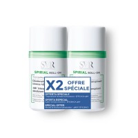 SVR SPIRIAL Déodorant Anti-transpirant lot de 2 Roll on 50 ml