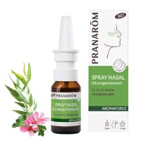 PRANAROM AROMAFORCE SPRAY NASAL DECONGIESTIONNANT BIO 15 ml