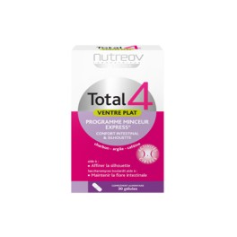 Total 4®Ventre Plat Lot de 2 boites de 30 gélules.