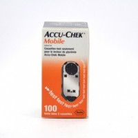 ACCU CHEK Mobile 2 cassettes de 50 tests