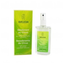 WELEDA Déodorant au citrus Lot 2 flacons 100 ml