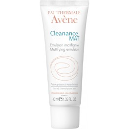 AVÈNE Cleanance MAT Émulsion Matifiante Tube 40 ml