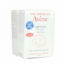 AVÈNE Cold Cream Pain Surgras Lot 2x100 g